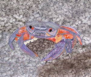 Crab in progress3
