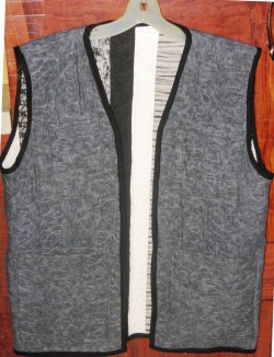 Striped Vest Back