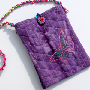 Bag with butterfly
