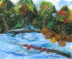 Needle Felted Jordan River