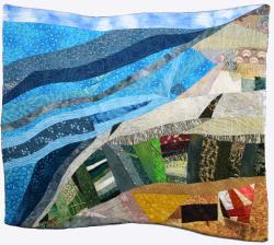Coastal Magic at Apollonia fabric art