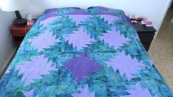 longarm quilted blanket