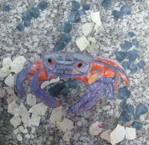 Crab in progress2