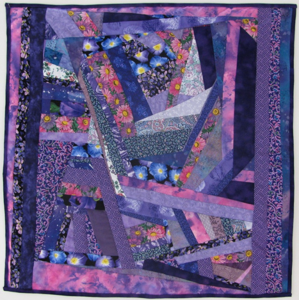 purple crazy quilt