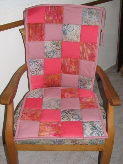 Rocking chair cushions