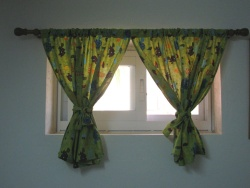 Turtle fabric curtains