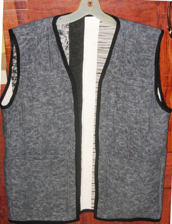 Striped Vest Back