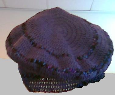Crocheted Beret