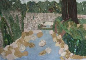 Ein Hemed, thread painting, version 6