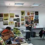 Singed fabric class