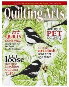 Quilting Arts Dec/Jan cover