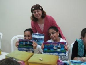 Cindy Richard, Needle felt teacher