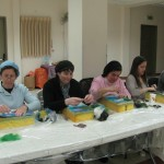 Needle felting women's event