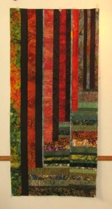 Section 2 of the quilt top