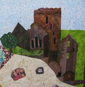Irish castle: Neil Diamond Quilt