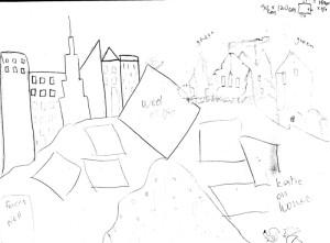 Final sketch: Neil Diamond