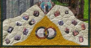 Neil Diamond and Kathryn's wedding quilt