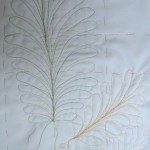 Quilting feathers