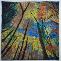 Autumn Glory quilt art