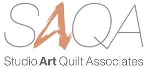 Studio Art Quilt Associates SAQA logo