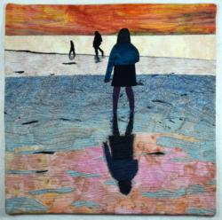 Mirror Image art quilt