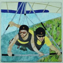Flight fabric art