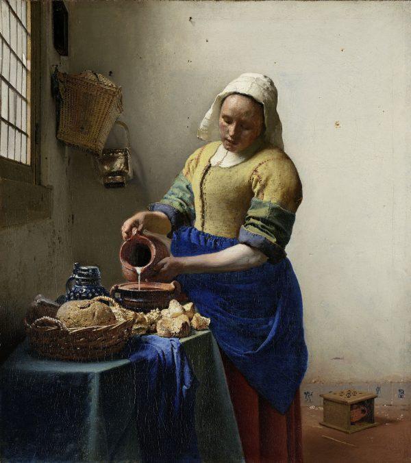 Milkmaid by Vermeer