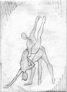 Sketch for Tango Dancers